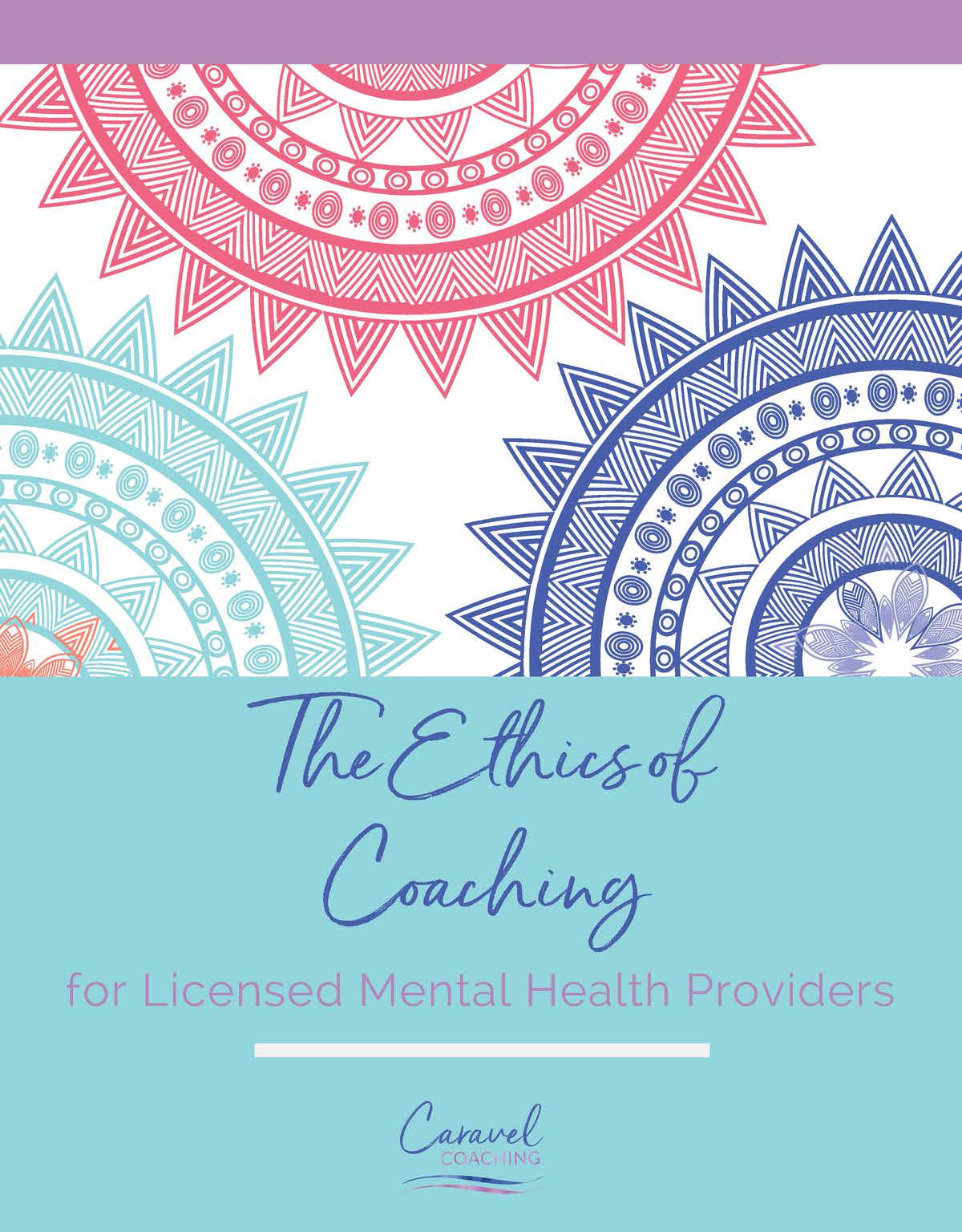Therapists and Coaching - Is it Ethical -- Caravel Coaching